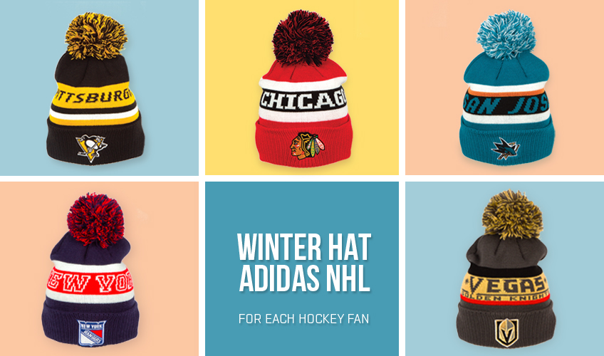 Czapki NHL