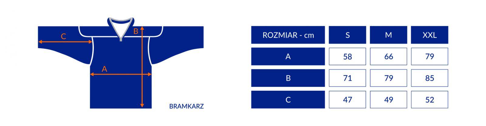 a025db799 Koszulka bramkarska Sportrebel Sr | Dodatki | Sklep hokejowy Sportrebel